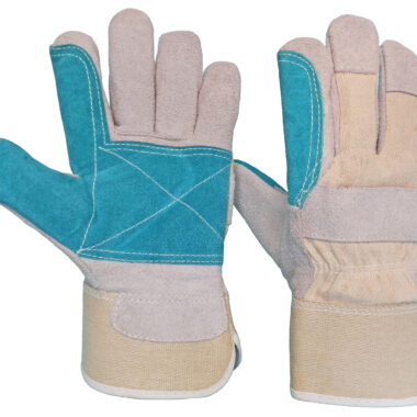 Γάντια DELTA SAFETY Δερματοπάνινα Ενισχυμένα A-102W