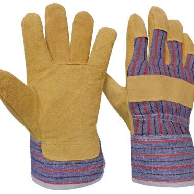Γάντια DELTA SAFETY Δερματοπάνινα Α-103