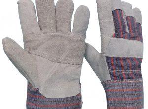 Γάντια Δερματοπάνινα