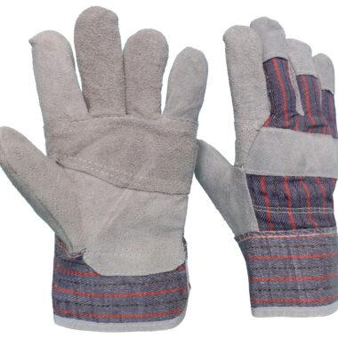 Γάντια DELTA SAFETY Δερματοπάνινα CBSA Α-103Β