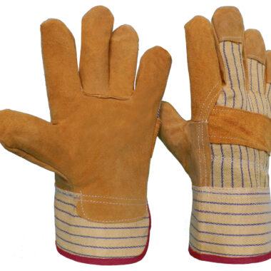 Γάντια DELTA SAFETY Δερματοπάνινα A-103C