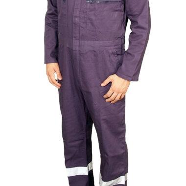 Φόρμα εργασίας DELTA SAFETY NAVAL 100% βαμβακερή 220g/τ.μ.