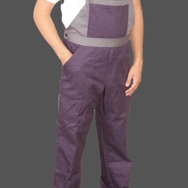 Φόρμα με τιράντες DELTA SAFETY WORK βαμβακερή 220g/τ.μ.